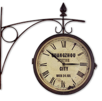 Old Train Station Clock for xwidget by Jimking
