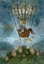 Balloon flight by ArtGalla