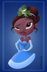 Princess and the Frog by kittifiedmeow