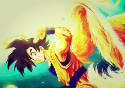 Goku by Pokewawa