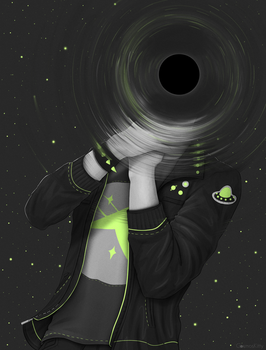 Black Hole by CosmosKitty