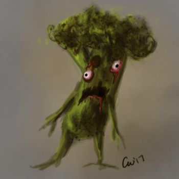 Zombie Broc by RustyCroutons