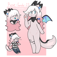 Rose Ref Commission by QTipps