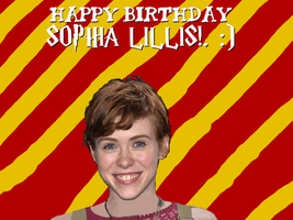 Happy Birthday Sophia Lillis! by Nolan2001