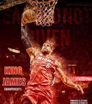 LeBron James Design by emanproedits