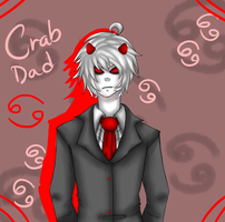 Crab Dad by Lolalilacs