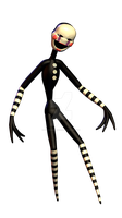 [BLENDER] [FNAF] | Puppet V.7 by CortezAnimations by CortezAnimations