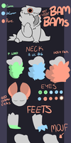 PASSIVE AGGRESSIVE BAM BAM TRAIT SHEET by CANDY-BEE