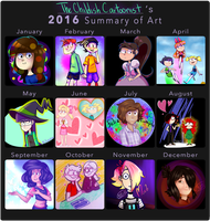 2016 SUMMARY! by AudreyAllStar