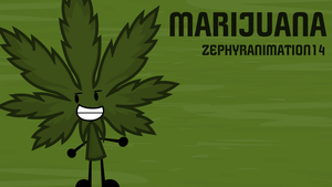 Object Commissions #16: Marijuana by FusionAnimations117