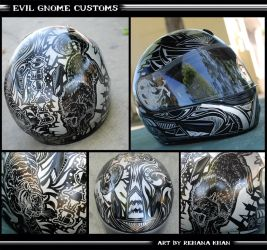 Custom Helmet Design by RehanaKn
