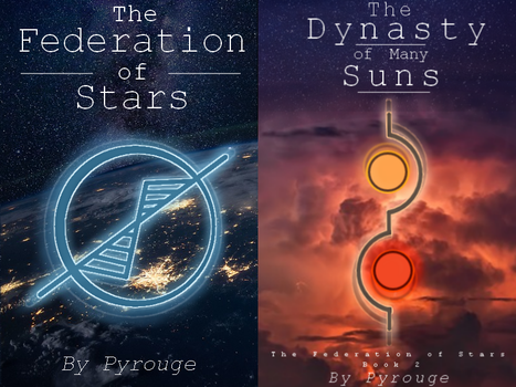 Two Concept Book Covers by Pyrrouge