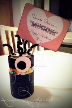 You're One in a Minion - Valentines day by KittenontheKeys