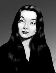 Morticia by Duncan-Eagleson