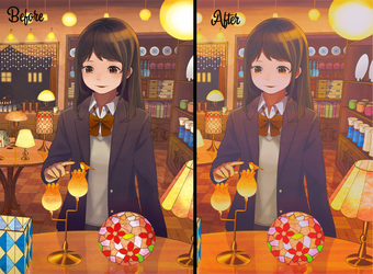 PSD COLORING by SSLac-Tome