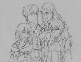 My Fire Emblem Family by MeadeArt