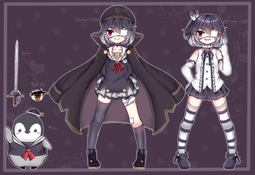 [Mascot] The Penguin Overlord by MarnyQuinn