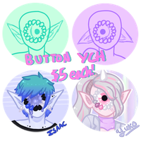 Xynthii Button YCH - [3/3 OPEN] by hello-planet-chan