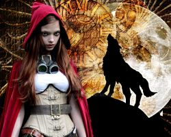 Steampunk ridinghood by dbphoto80