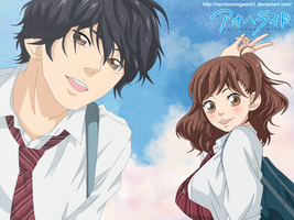 Ao Haru Ride Cover 1 by NarutoRenegado01