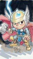 SD God of Thunder by EJ-Su