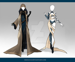 (CLOSED) Adoptable Outfit Auction 77-78 by JawitReen