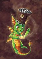 Madhatter dragon by tikopets