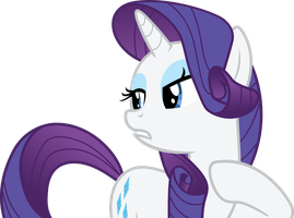 Rarity Glams Up Manehattan by SNX11
