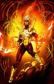 Firestorm colored by Vonny88