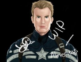 Captain America WIP by Almerious