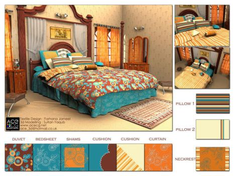 Textile Design Display by sultanbh