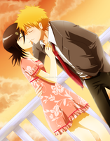 IchiRuki - First Kiss by Ginryuzaki