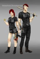 my gta charactes by msdeath666