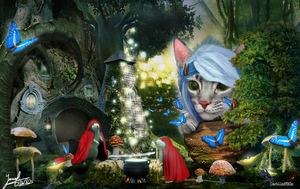 A GreyKitty Fairy Tale Story by DarkWolf80s