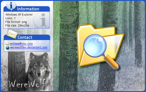 Windows XP Explorer by werewolfdev