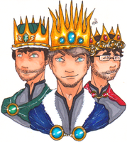 The first kings by im-a-nobody