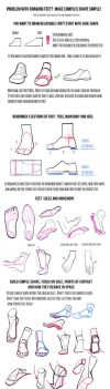 Some tips for feet by mannequin-atelier