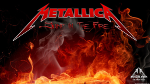 Jump In The Fire Metallica Wallpaper by emfotografia