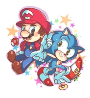 it's a me,  Ma- ..Sonic Adventure! by chibiirose