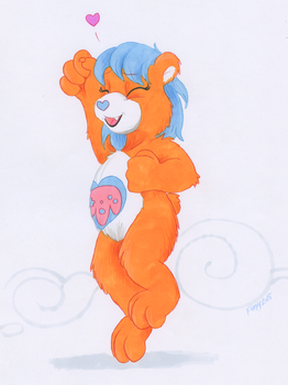 Care Bear Commissions - Woxie by foxxy-arts