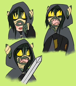 Critical Role: Nott the Brave by RyuRedwings