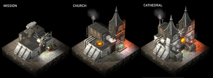 Church concepts by SquidEmpire