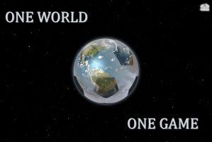 one world-one game(eRepublik art-competition) by tomren