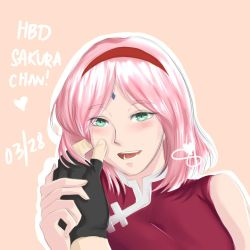 HBD Sakura-chan! by shaneberry-art