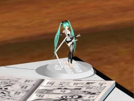 MMD Accesory : Figure Stand Download by YoItzLen