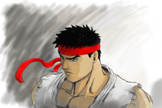 ryu street fighter by tavochiefthunder