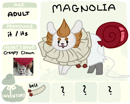flufferbun registration sheet // Magnolia by pearlymoon