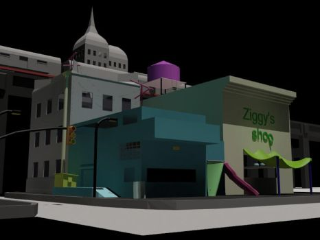 3ds max project, this time with mental ray! by iddy94