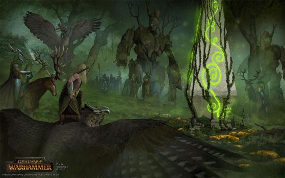 Forest Gathering by EthicallyChallenged