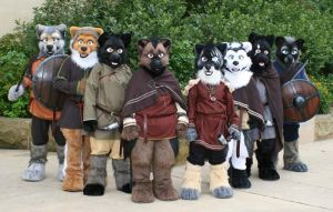 Anthrocon Wolves of war by temperance